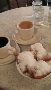 beignets coffee