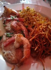black drum fish and shrimp corn sweet potato_2